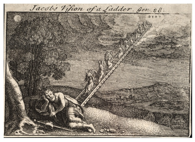 Jacob's Ladder by Wenceslas Hollar