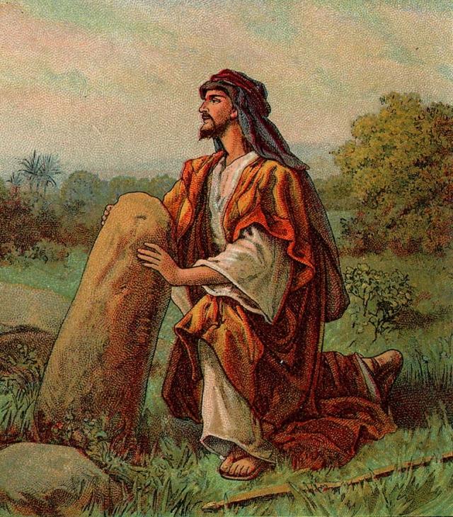 Jacob's stone at Bethel