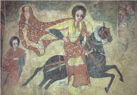 Queen of Sheba - National Museum of Ethiopia at Addis Ababa